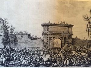 Napoleone entra a MIlano